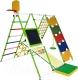 Детский спортивный комплекс Формула здоровья Вершинка-W Плюс (салатовый/радуга) -