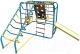 Детский спортивный комплекс Формула здоровья Артек-N Плюс  (голубой/радуга) -