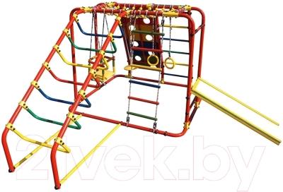 Детский спортивный комплекс Формула здоровья Артек-N Плюс (красный/радуга)