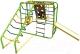 Детский спортивный комплекс Формула здоровья Артек-N Плюс (салатовый/радуга) -