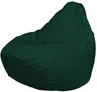 Бескаркасное кресло Flagman Груша Макси Г2.1-05 (темно-зеленый) -