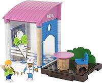 Элемент железной дороги Brio Кафе-мороженое 33944 -