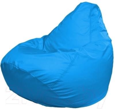 Бескаркасное кресло Flagman Груша Макси Г2.2-14 (голубой)