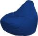 Бескаркасное кресло Flagman Груша Макси Г2.2-15 Дюспо (синий) -