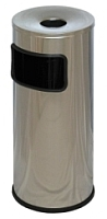 Мусорное ведро Титан Мета К250НН (хром) -
