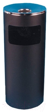 Урна уличная Титан Мета К250Н (черный)