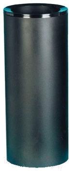 Мусорное ведро Титан Мета 250 (черный)