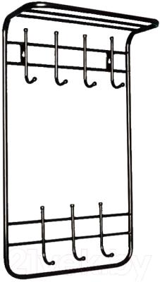 Вешалка для одежды Титан Мета ТСП (черный)