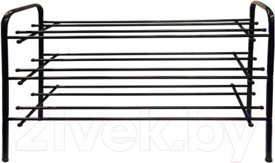 Полка для обуви Титан Мета ПО-3/70 (черный)