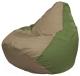 Бескаркасное кресло Flagman Груша Макси Г2.1-91 (темно-бежевый/оливковый) -