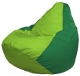 Бескаркасное кресло Flagman Груша Макси Г2.1-166 (салатовый/зеленый) -
