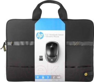 Сумка для ноутбука HP Wireless Essentials Kit N3U50AA (+ мышь)