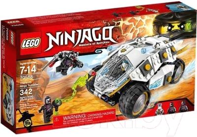 Конструктор Lego Ninjago Внедорожник титанового ниндзя 70588