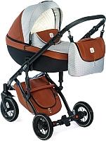 Детская универсальная коляска Dada Paradiso Group Max 500 3 в 1 (шоколад) -