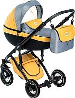 Детская универсальная коляска Dada Paradiso Group Max 500 3 в 1 (Toffee) -
