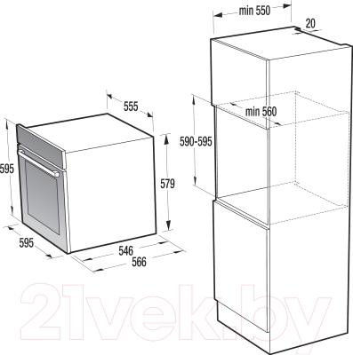 Электрический духовой шкаф Gorenje GO778X