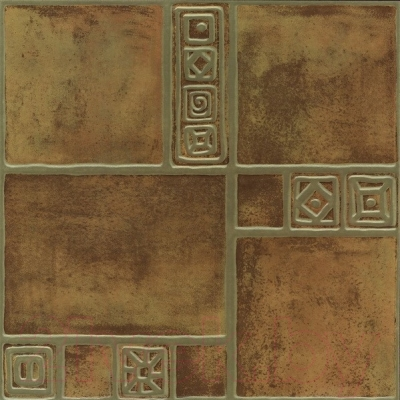 Плитка Березакерамика Рамзес терракотовый (420x420)