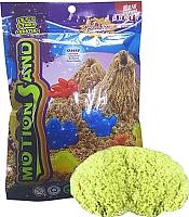 Кинетический песок Motion Sand MS-500G (светло-зеленый) -