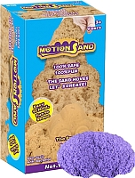 Кинетический песок Motion Sand MS-800G (фиолетовый) -