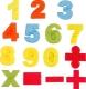 Набор для лепки Motion Sand Формочки-цифры M017 -