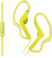 Наушники-гарнитура Sony MDR-AS210APY (желтый) -