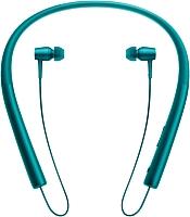 Наушники-гарнитура Sony MDR-EX750BTL (малахитово-синий) -