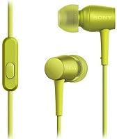 Наушники-гарнитура Sony MDR-EX750APY (лимонно-желтый) -
