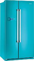 Холодильник с морозильником Gorenje NRS85728BL -