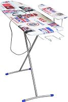 Гладильная доска Ника Лина 4 / ДЛ4 (британский флаг) -