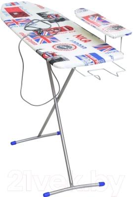 Гладильная доска Ника Лина 4 / ДЛ4 (британский флаг)