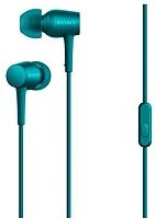 Наушники-гарнитура Sony MDR-EX750APL (малахитово-синий) -