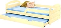 Двухъярусная кровать Halmar Natalie (ваниль) -