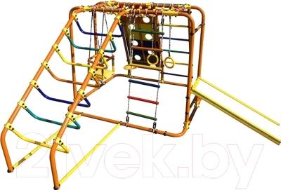 Детский спортивный комплекс Формула здоровья Артек-N Плюс (оранжевый/радуга)