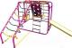 Детский спортивный комплекс Формула здоровья Артек-N Плюс (розовый/радуга) -