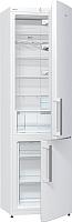 Холодильник с морозильником Gorenje NRK6201CW -