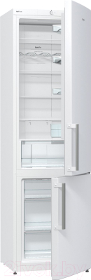 Холодильник с морозильником Gorenje NRK6201CW