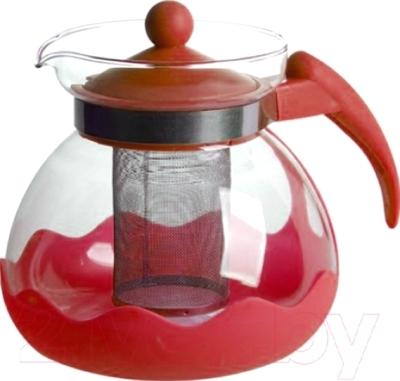 Заварочный чайник Irit KTZ-15-004 (красный)
