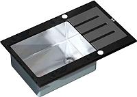 Мойка кухонная ZorG GL-7851 (черный) -