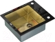 Мойка кухонная ZorG GL-6051 (черный бронза) -