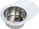 Мойка кухонная ZorG GL-5077-OV (белый) -