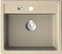 Мойка кухонная ZorG GZR-5750 Galla (песочный) -