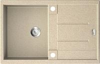 Мойка кухонная ZorG GZR-7850 Exoro (песочный) -
