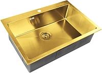 Мойка кухонная ZorG SZR-7551 (бронза) -