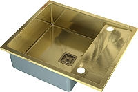 Мойка кухонная ZorG SZR-5062 (бронза) -