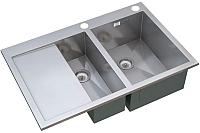 Мойка кухонная ZorG X-5178-2 R -