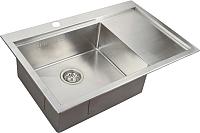 Мойка кухонная ZorG ZM R-7852 L -