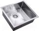 Мойка кухонная ZorG Steel Hammer SH R 4844 Elipso -