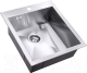 Мойка кухонная ZorG Steel Hammer SH X 4551 Edolvo -