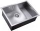 Мойка кухонная ZorG Steel Hammer SH X 5844 Levos -