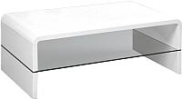 Журнальный столик Halmar Claudia 60x110 (мдф/стекло) -